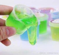 Hot Slime Clay Kleurrijke Slime Speelgoed Modder Klei Niet-toxische Milieubescherming Grappige Slijn Toy Can Blowing Bubbles Draw Kids Christmas Gift