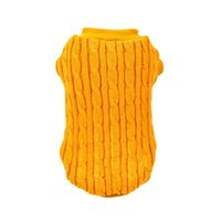 Dog Apparel Classic Pet Puppy Clothes Knitting Costume Autumn And Winter Warm Sweater Pets Supplies