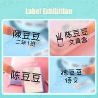 Printers Transparent Lable With Name Niimbot D110 Portable Wireless Thermal Label Printer Mini Pocket Maker Home Office Impresoras