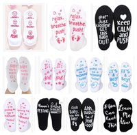 Hospital Courage Letter thicken socks if you can read this anti-slip floor Christmas socks party favor gift hostipal