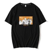 Anime Haikyuu Nekoma Karasuno Tee Gömlek Kısa Mouw Kageyama Tobio Hinata Shoyo T-Shirt Unisex
