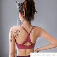 Brand Sexy Sexy Spalla sottile Tracolla senza cuciture Solfisa Bra Donne Gym Yoga Bras Traspirante fitness Sport Bra Top Sujetador Deportivo Mujer
