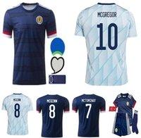 Bambini + Men 2021 Scozia Soccer Jerseys 20 21 Camisetas de Futbol Home McGregor McGinn Armstrong Robertson Squadra nazionale Camicie da calcio