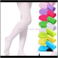 Tights Clothing Baby, & Maternity Drop Delivery 2021 Fashion Baby Pantyhose Veet Ballet Stocking Kids Girl Cotton Pants Summer Candy Color Le