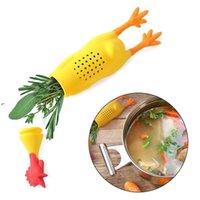 Newsilicone Herb Infuser يصرخ دجاج التوابل وعاء بهار الحاويات التوابل مربع ل stewing حساء اكسسوارات المطبخ EWE7660