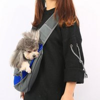 Pet Carries A Cross-Body Bag Across The Chest Dog Car Seat Covers