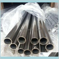 Alliages de métaux Fournitures MRO Office School Industrial 304 Tube Round Tube en acier inoxydable Tubes personnalisées Tailles Drop Drop