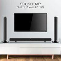 Drahtlose Bluetooth-Soundbar 50W Abnehmbare Basslautsprecher 3D Surround HIFI Audio Sound Bar Stereo Subwoofer Heimkino Optical HDMI RCA mit Fernbedienung für TV-PC