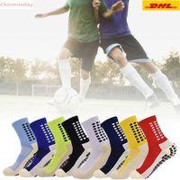 Men's Anti Slip Football Socks Athletic Long Socks Absorbent Sports Grip Socks For Basketball Soccer Volleyball Running FY7610 CA26