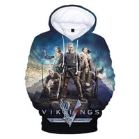 Men's Hoodies & Sweatshirts Fashion Hoodie Men women Pullovers Boys girls Streetwear Clothes Ragnar Lothbrok 3D Full