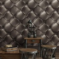 Stereoscopic Soft Case Wallpaper European Style Bedroom Bedside Living Room Luxury TV Background PVC Wall Paper Rolls Wallpapers