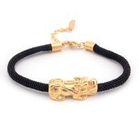 Couple Bracelet Men Brave Troops Wholesale Stainless Steel Gold On Hand Black Adjustable Bracelets Women Gifts Womans Charm