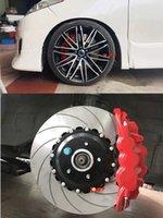 Klakelbremse Kit Autozubehör 8520 6 Große Kolbenwagen Bremssattel 410 * 34mm Bremsscheibe Rennkissen 22 Zoll Frontrand für BMW E39
