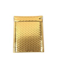 30pcs lot 18x23cm gold color Poly Bubble Mailer purple Self Seal Padded Envelopes mailing bags Padded Mailers Shipping Envelope 1472 V2