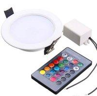 النازل RGB LED أسفل الأنوار 3W 5W 10W لوحة الإضاءة النازل AC110 / 220V داخلي راحة