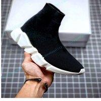 Chaussette Mode Femmes Hommes Casual Chaussures Casual Tricoté Haute Qualité Poids Lightweight Up Sneakers