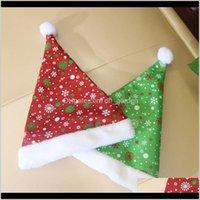 Decorazioni Bambino Bambino Adulto Santa Claus Cappelli Peluche Cappello Natale Cappello Partito Cosplay Decorazione regalo di Natale BH4211 YUFHB ZVUP9