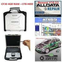 CF30 진단 노트북 최신 AllData v10.53 M ... LL 2015 및 ATSG 2017 3 in 1 TB HDD 전체 세트 CF30 4GB 노트북