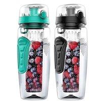 Free Fruit Infuser Juice Shaker Sports Limone Acqua Bottiglia Fitness Sport Frutta Bere bottiglie per ragazza
