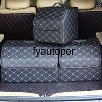 Multipurpose Collapsible Car Trunk Organizer Box Auto Large Capacity Tools Storage Bag Stowing Tidying Box Car Accessories