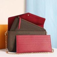 Wallet Designer Favorite Multi Pochet Kette Umhängetaschen Luxurys Frauen Handtasche Kupplung Brieftaschen Karte Geldbörse