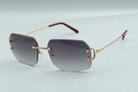 2021 Nova Fábrica Luxo Simples Designer Direto Sunglasses Garra Metal Clássico 4193820 Luz Expedição Grátis Ultra LSSXM