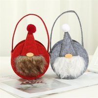 Faceless Doll Candy Bag Christmas Socks Gift Ornaments Decor Stockings Wrap