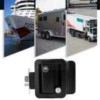 Parts Car Paddle Entry Door Lock Handle Knob -trailer Pull Panel Caravan Type Rv Yacht Accessories X8l2