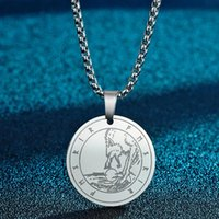 Pendant Necklaces Fenrir Or Fenris Wolf Men Necklce Son Of Loki Amulet Norse Mythology Jewelry Stainless Steel Necklace Gift