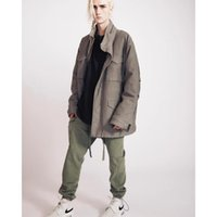 high Fog 6th fear of line God main street ribbon drawstring men's and women's loose casual pants overalls