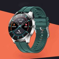 디자이너 럭셔리 브랜드 시계 Senbono S80 BT5.0 Smartes 남성 여성 ES 풀 터치 HD 스크린 30 일 대기 스마트 맨 손목 팔찌