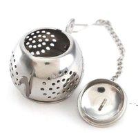 أدوات الشاي Infuser إبريق الشاي شكل 304 الفولاذ المقاوم للصدأ وعاء العشبية مصافي تصفية owe5661