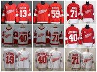 2021 Detroit Red Wings Hockey Jerseys Mens Dylan Larkin Jersey Luke Glendening Tyler Bertuzzi Filip Hronek Darren Helm Justin Abdelkader