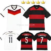 독일 레트로 축구 유니폼 유니폼 2014 14 15 Littbarski 발락 Klinsmann Matthias 2014-15 클래식 빈티지 Kalkbrenner 축구 셔츠 키트
