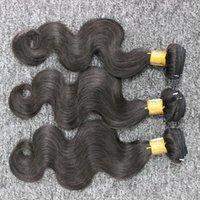 أفضل جودة البرازيلي الجسم موجة 3 حزم الكثير البرازيلي الشعر غير المجهزة الإنسان الشعر ينسج bunldes سريع الشحن