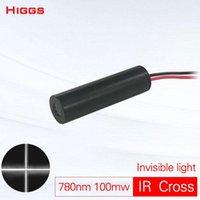Alta qualità 780nm 100mw Modulo laser a infrarossi a infrarossi a infrarossi Invisible Light IR Position Locator Marking Grado industriale Personalizzabile Portable Lant