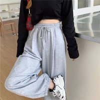 Women's Pants & Capris gray sweatpants, athletic and racing pants, women's fashions for the autumn of 3HKS