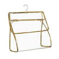Storage Boxes & Bins For Bathroom Portable Foldable Waterproof Hanging Bag Transparent Wall With Hook Space Saving Home Clothes Underwear