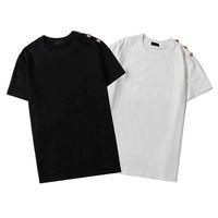 2021New Mens Women Designers T Shirt Fashion Men S Casual T Shirts Man Clothing Street Designer Shorts Sleeve Clothes Tshirts M-XXL BL1