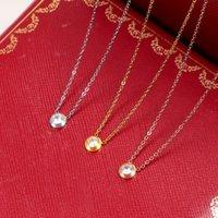 Lux Design Hohe Qualität Extravagant Schmuck Deluxe Brief Perle Anhänger Halskette Edelstahl Gold Silber Rose Überzogene Hochzeit Diamant Lange Kette Frauen