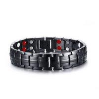 Braccialetto da uomo in acciaio in acciaio in acciaio in acciaio per gioielli personalizzato