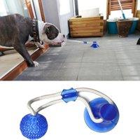 Hundespielzeug Pet Welpe Interaktive Saugnapf Push TPR Ball Molar Biss Spielzeug Elastische Seile Hunde Zahnreinigung Kauvorräte