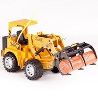 124 اللاسلكية التحكم عن rc شاحنة الطريق الأسطوانة اللعب 5 ch محاكاة rc تاميبرو لعبة rc هندسة سيارة هدية للأطفال