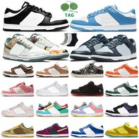 Dunk Hombres Mujeres Bajo Running Zapatos Dunks Blanco Blanco Georgetown Trail FTC Red Plum Sail Multi Camo Syracuse Kentucky Candy Photon Trailers Deportes Deportes Zapatillas deportivas