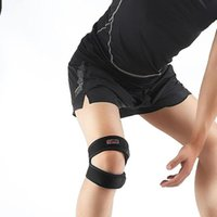 Double Patella Breathable Flexible Knee Brace Strap Support ...