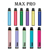 MF FG Cigarros Disaposable Max Pro Vape Pen 1700 Puffs 3.5ml 5% Capacidade Tabco 600mAh Bateria 15 Cores Vs Puffl