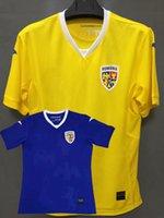 2021 2022 Futebol Jerseys National Team Romania Casa Away Pascas Stanciu Maxim Mihaila Keseru 21 22 Camisa de Futebol