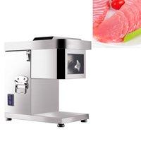 Trancheur à viande en acier inoxydable coupe entièrement automatique de bureau machine de meuleuse de machine à viande de machine à couper la viande Dicing machine 1500W 220V