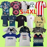 S-4XL 212 멕시코 선수 축구 유니폼 멀리 Cruz Azul H.Lozano Dos Santos Chicharito 2021 국가 대표팀 스포츠 축구 유니폼 셔츠