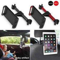 Araba Arka Yastık Telefon Tutucu Esnek 360 Derece Dönen Tutucular Telefonları Ipad Tablet Stand Geri Koltuk Kafalık Dağı Braketi